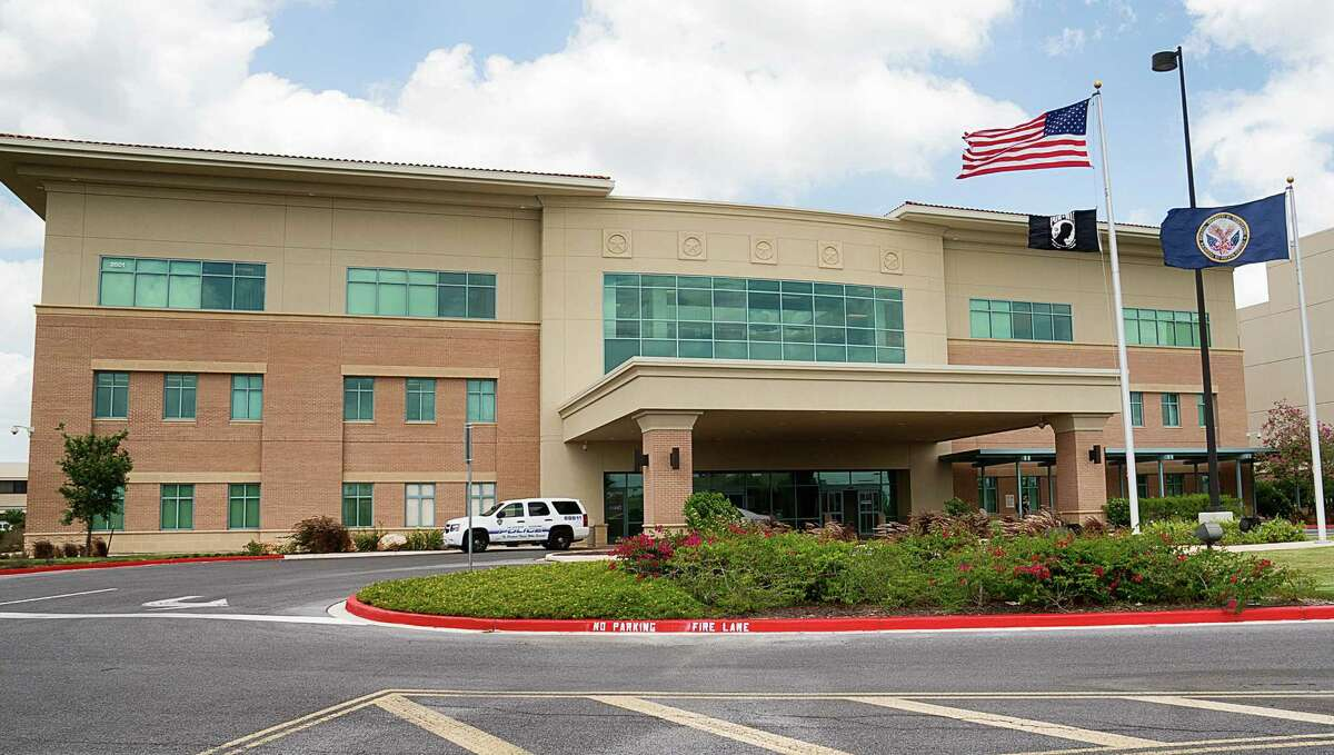 This Monday, June 9, 2014 photo shows the VA Health Care Center in Harlingen, Texas. The medical center ranks high on the list of the facilities with the longest average waits as of May 15, 2014 for new patients seeking primary care, specialist care and mental health care, according to audit results released Monday. (AP Photo/Valley Morning Star, David Pike)