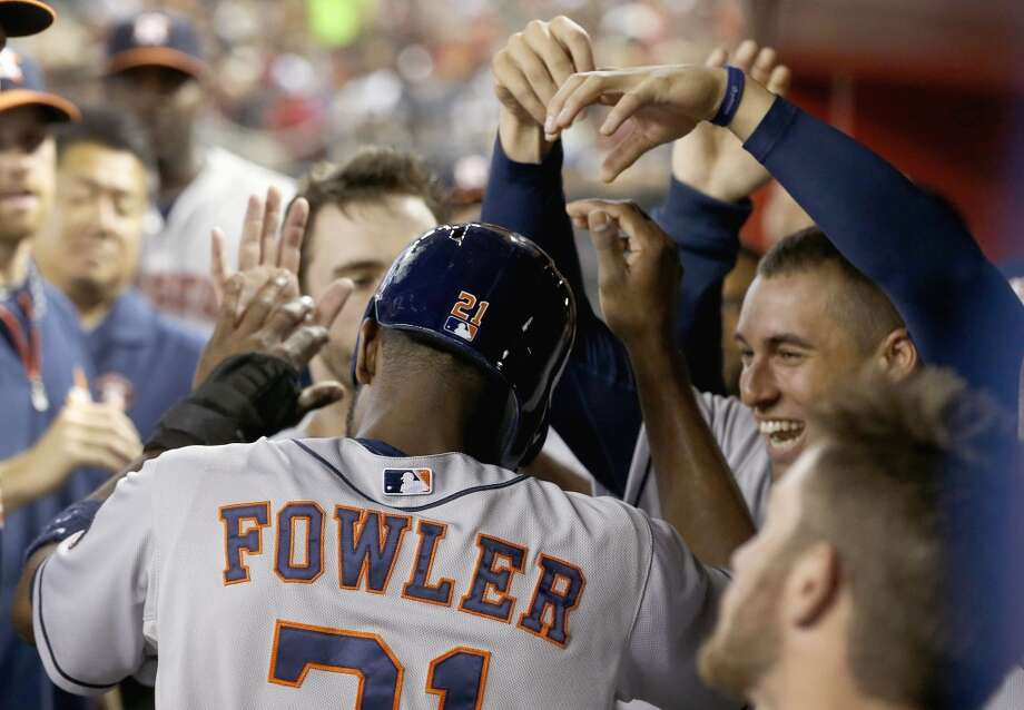 June 9: Astros 4, Diamondbacks 3George Springer was a late scratch from the lineup with a sore knee, but the Astros took care of business anyways as Jarred Cosart pitched a nice game and the offense gave him some early run support.  Record: 29-36. Photo: Ross D. Franklin, Associated Press