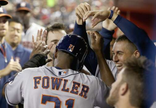 June 9: Astros 4, Diamondbacks 3  George Springer was a late scratch from the lineup with a sore knee, but the Astros took care of business anyways as Jarred Cosart pitched a nice game and the offense gave him some early run support.  Record: 29-36. Photo: Ross D. Franklin, Associated Press