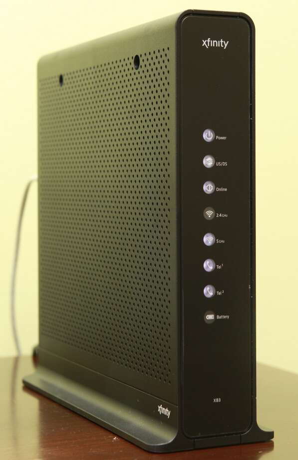 An Arris Touchstone Telephony Wireless Gateway Modem. Comcast has been distributing these to customers for about two years. Photo: Melissa Phillip, Houston Chronicle