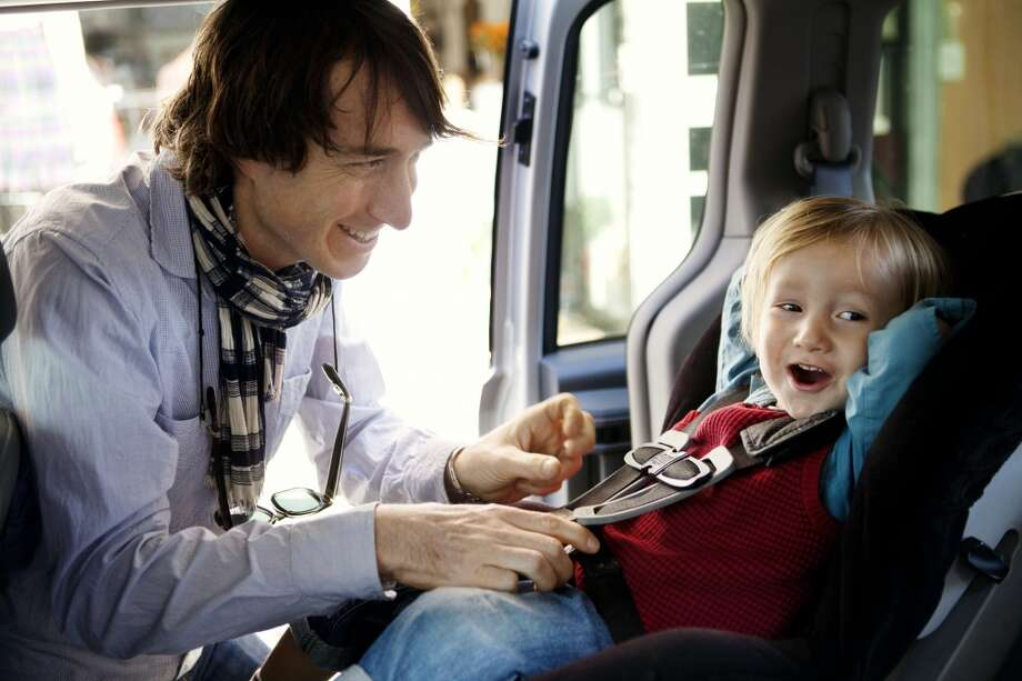 How to install a car seat. Photo: Cavan Images, Getty Images