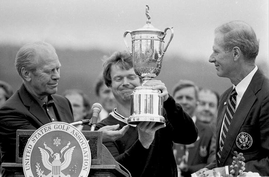 """10. Tom Watson (39 wins, eight majors):His career gains luster when you remember how often he handled Nicklaus, including the 1982 U.S. Open at Pebble Beach and their storied British Open """"Duel in the Sun"""" at Turnberry in 1977. Photo: AP"""