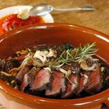 Ad Hoc:  Herb roasted sirloin tip is one of the dishes I wish for on the 4-course menu that changes nightly.