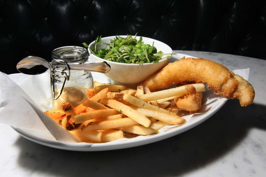 Cavalier: Fish and chips. Photo: Lance Iversen, The Chronicle