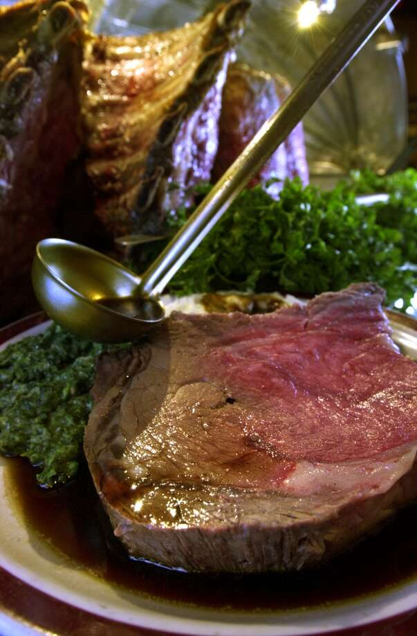 House of Prime Rib: Salt-roasted prime rib, carved tableside. Photo: CRAIG LEE, SFC