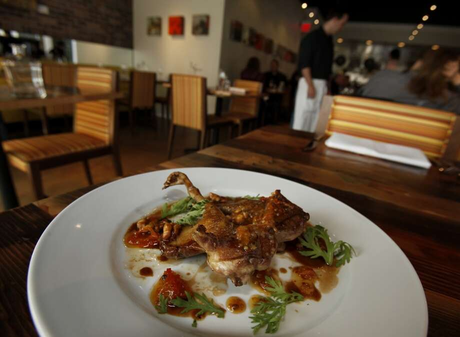 Oenotri: Roasted squab with kumquat mostarda. No one does squab better. Photo: Brant Ward, The Chronicle