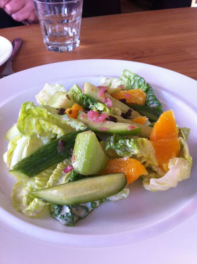 Piccino: Cucumber salad, and other salads, are reason enough to go to this pizza-centric restaurant.