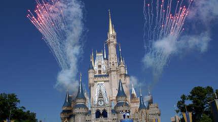 No. 1: Florida (Disney World in Orlando.)
