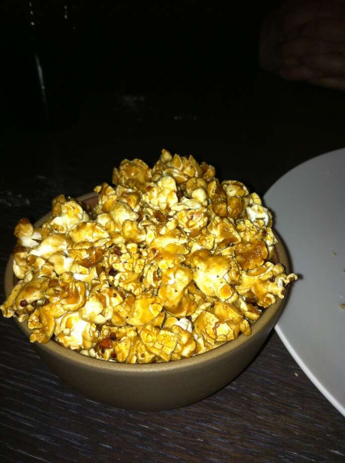 Prospect: I can't think of a better way to cap a meal than by caramel popcorn with cacao nibs and salt.