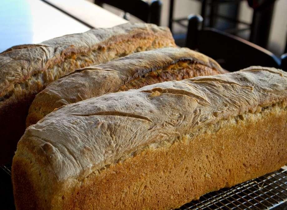 Rich Table: Freshly baked bread. Photo: John Storey