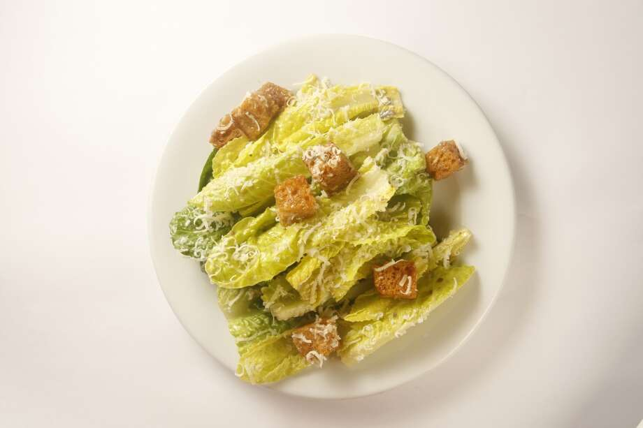 Zuni Cafe: Caesar salad.  Yes, it's whole leaves. As it should be! Photo: Craig Lee, The Chronicle
