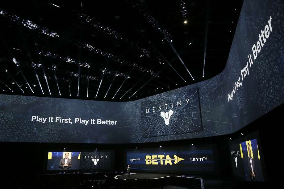 Destiny is introduced during the Sony press conference at E3 June 9, 2014 in Los Angeles, California. The annual video game conference and show runs from June 10-12. Photo: Dan R. Krauss, Getty Images