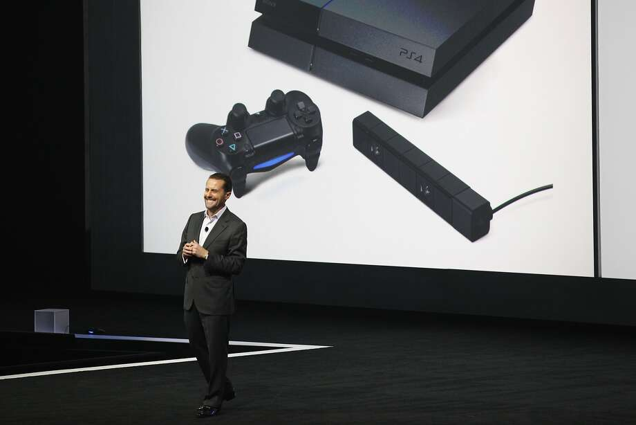 Andrew House, President and group CEO Sony Computer Entertainment Inc., speaks onstage during the Sony press conference at E3 June 9, 2014 in Los Angeles, California. The annual video game conference and show runs from June 10-12.  Photo: Dan R. Krauss, Getty Images