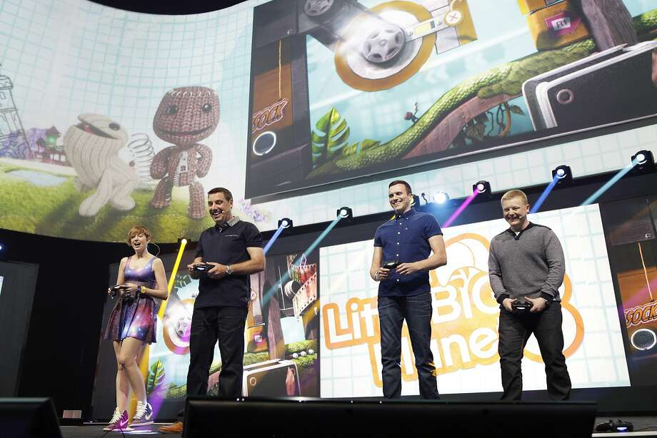 A live demo is given of Little Big World 2 at Sony's press conference at E3 June 9, 2014 in Los Angeles, California. The annual video game conference and show runs from June 10-12.  Photo: Dan R. Krauss, Getty Images