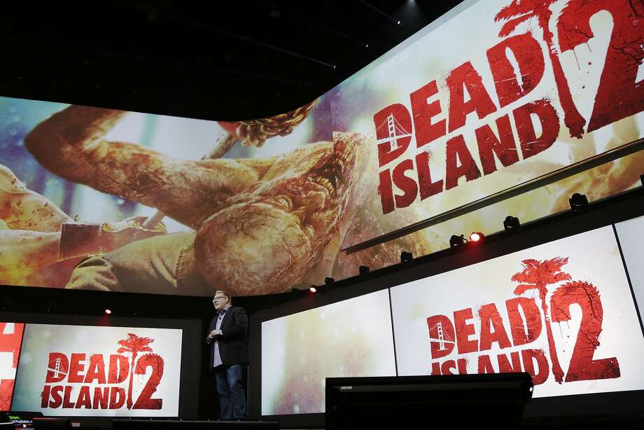 The demo of Dead Island 2 is displayed at Sony's press conference at E3 June 9, 2014 in Los Angeles, California. The annual video game conference and show runs from June 10-12. Photo: Dan R. Krauss, Getty Images