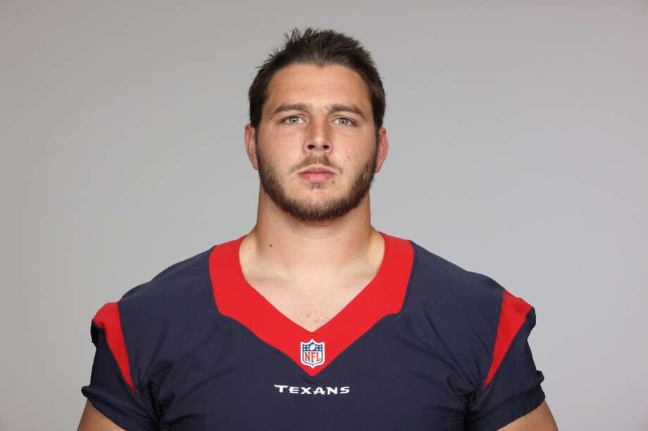 The Texans selected David Quessenberry in the 2013 draft. Photo: Associated Press