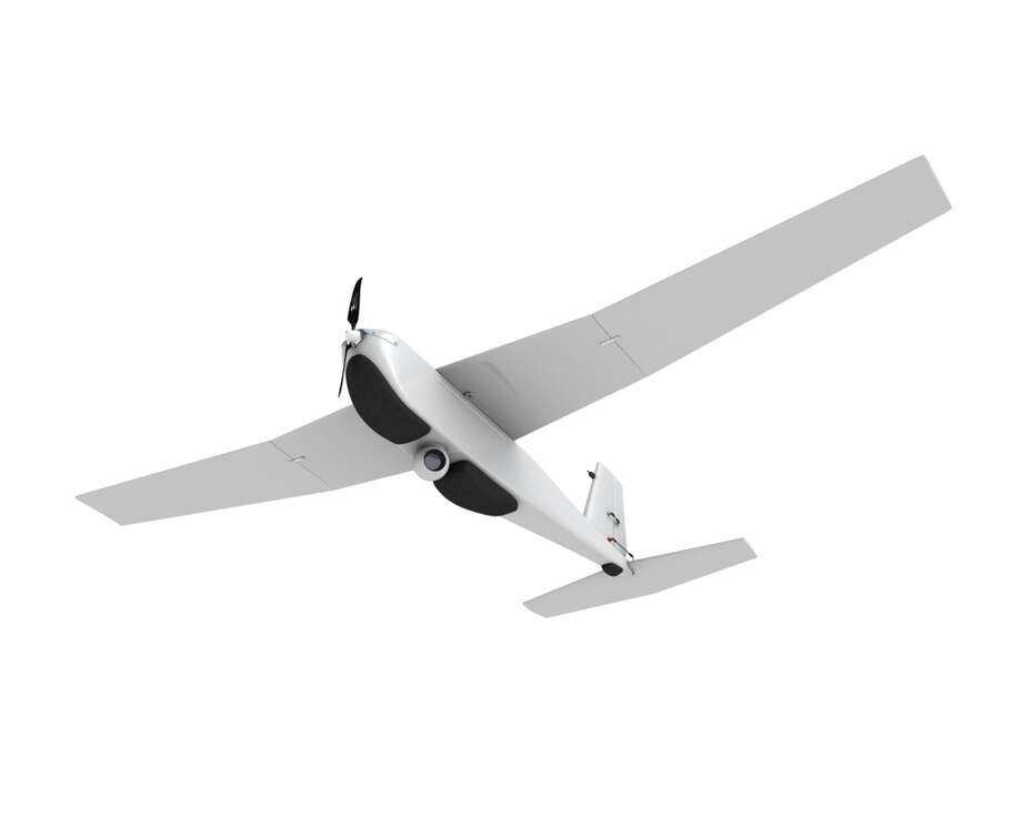 The Puma AE (All Environment) is a drone capable of landing in  water or on land. BP and drone-maker AeroVironment will use the Puma AE to survey BP pipelines, roads and equipment nearly Alaska's Prudhoe Bay after winning the first-ever FAA approval for such use.