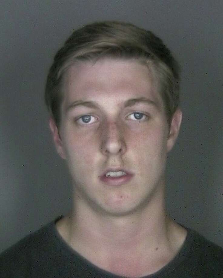 Logan Marschner was charged with reckless endangerment and DWI. (East Greenbush police photo)