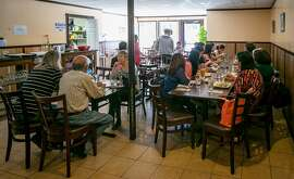 The interior of Sue's Kitchen in El Sobrante, Calif., is seen on June 4th, 2014.