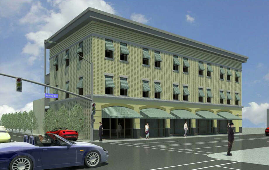 Henry Terrell Building is being converted into timeshare apartments. Photo: Viridian Development Studios, Courtesy