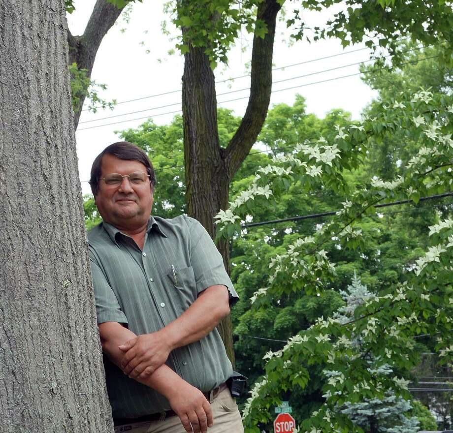 Tree Warden Ken Placko is retiring at the end of the year after more than 30 years with the town. Placko started as an open space manager in the Conservation Department. Photo: Genevieve Reilly / Fairfield Citizen