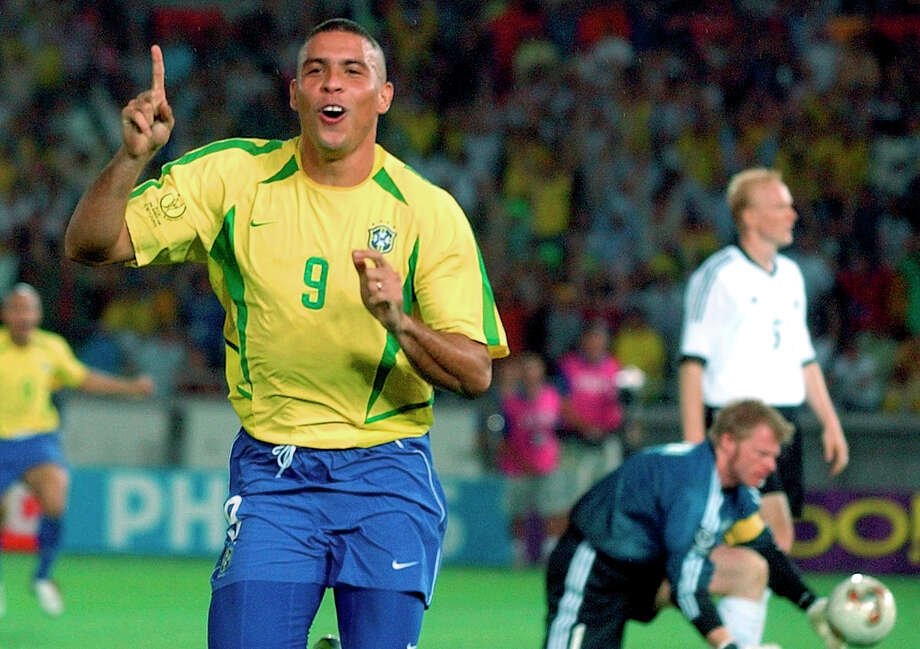 Ronaldo (Brazil) Played in his first World Cup at the age of 17 and was part of the team that won the title in 1994. In the 1998 World Cup, he helped Brazil reach the final and won the Golden Ball for player of the tournament. He won a second World Cup in 2002 and in the 2006 FIFA World Cup, Ronaldo became the highest goal scorer in World Cup history with 15. Photo: Dusan Vranic, AP / AP