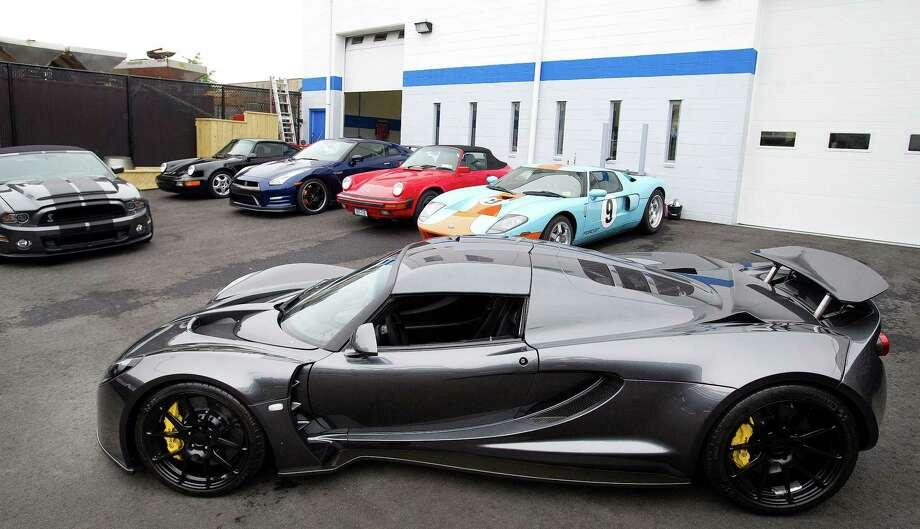 Record breaker Venom GT roars at Stamford shop - StamfordAdvocate