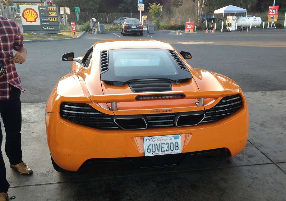 Authorities say Mohannad Halaweh used stolen credit cards to rent this car. Photo: Associated Press