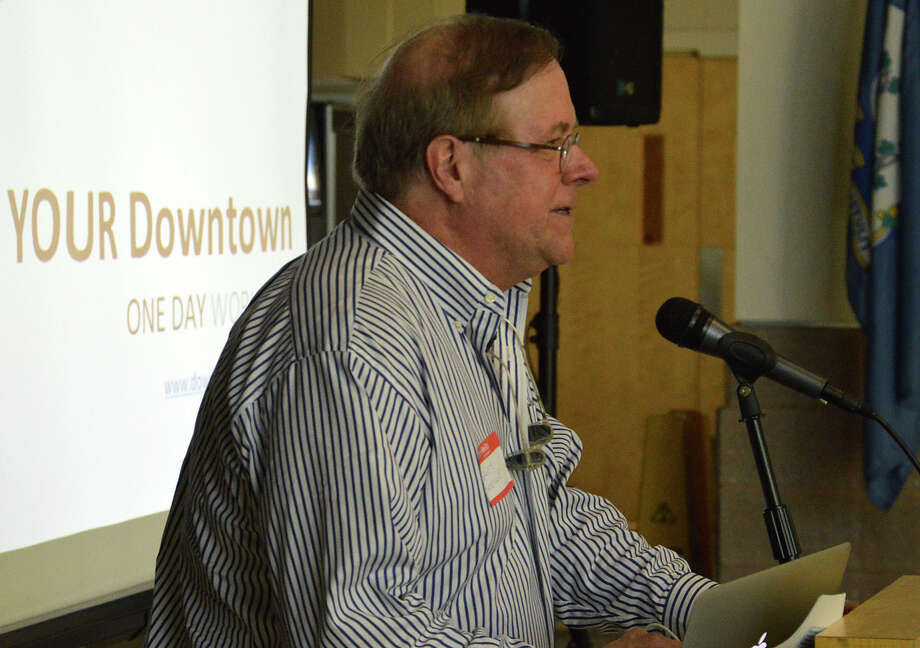 Dewey Loselle, chairman of the Downtown Steering Committee, has been appointed to the new job as town operations manager by First Selectman Jim Marpe. Photo: Jarret Liotta / Westport News
