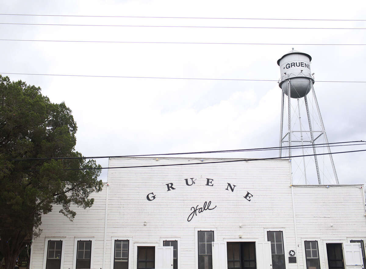Gruene Hall, built in 1878, isn't air-conditioned,