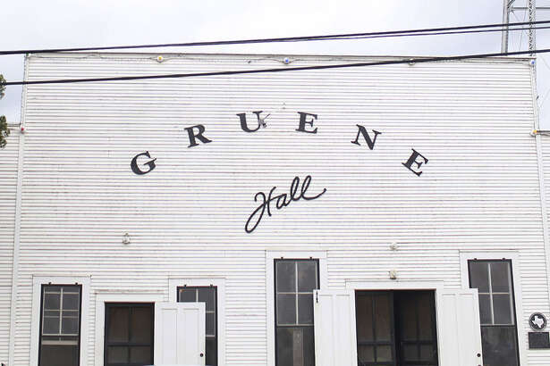 """Gruene Hall, built in 1878, isn't air-conditioned, """"but it's got good karma and we take good care of you,"""" said owner Pat Molak."""