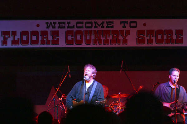 Robert Earl Keen (center) is one of the many top acts to perform through the years at Floore's Country Store.