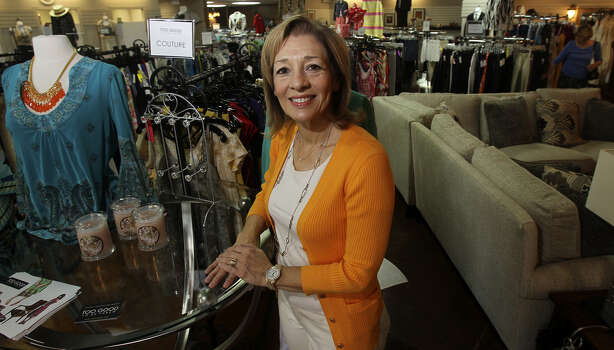 Too Good to be Threw owner Linda Reams said her business is selective about the items it accepts for consignment, leading to a loyal customer base. Photo: John Davenport / San Antonio Express-News / ©San Antonio Express-News/John Davenport