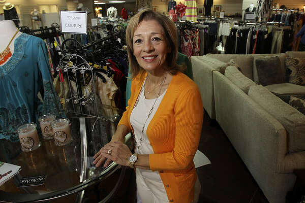 Too Good to be Threw owner Linda Reams said her business is selective about the items it accepts for consignment, leading to a loyal customer base.