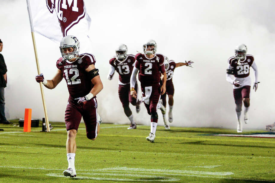 Texas A&M University – No. 12 (for the 12th Man) Photo: Bob Levey, Getty Images / 2013 Bob Levey
