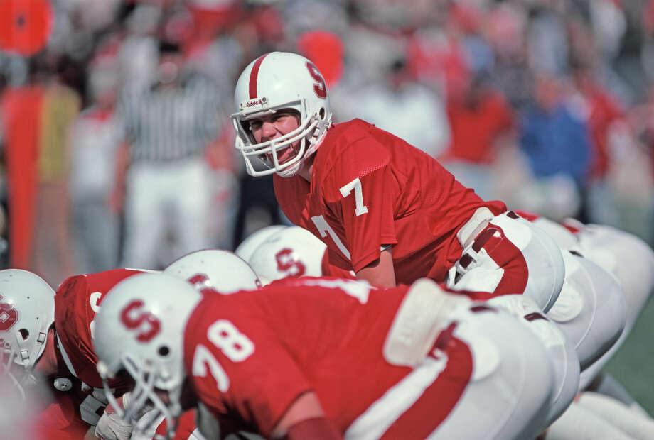 Stanford – No. 7 (John Elway) Photo: David Madison, Getty Images / 1981 David Madison
