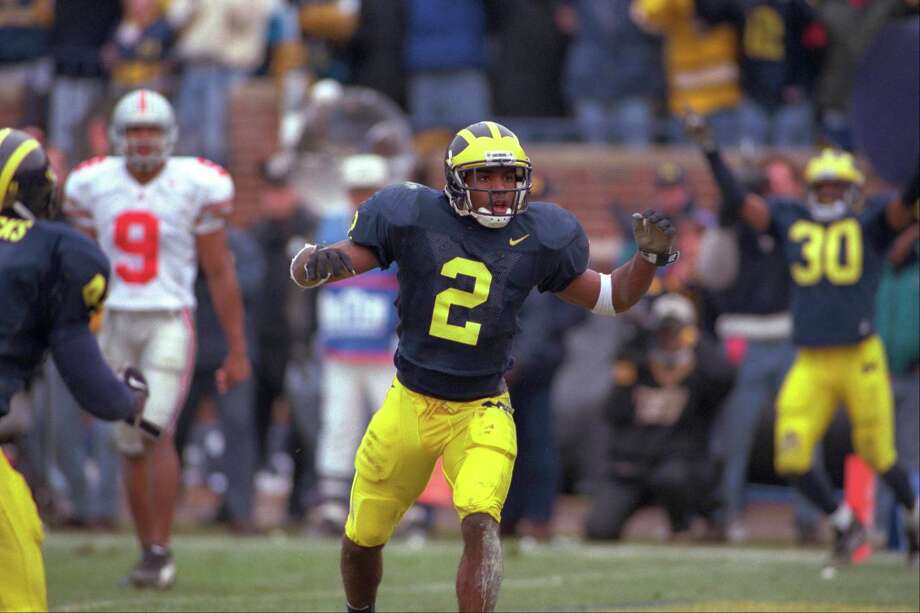 Michigan – No. 2 (Charles Woodson) Photo:  Albert Dickson/Sporting News/Ic, Getty Images / www.iconsportsmedia.com