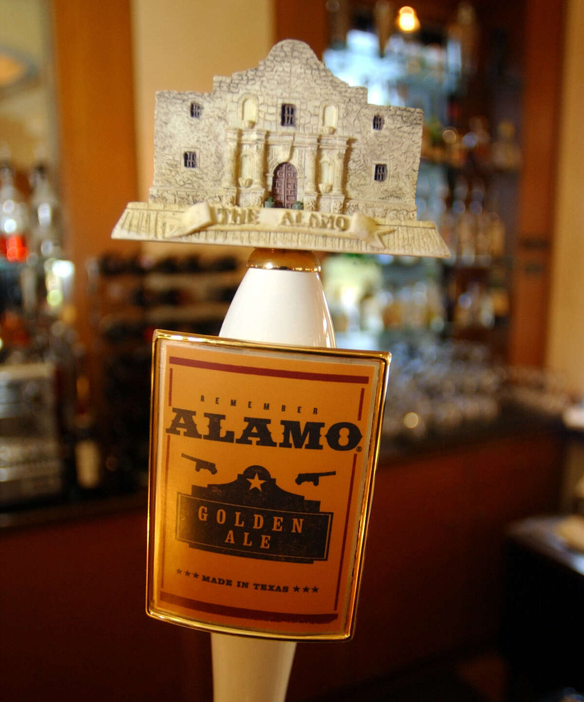 The Alamo Beer Co.'s blonde ale will be joined by other brews once its local facility opens.