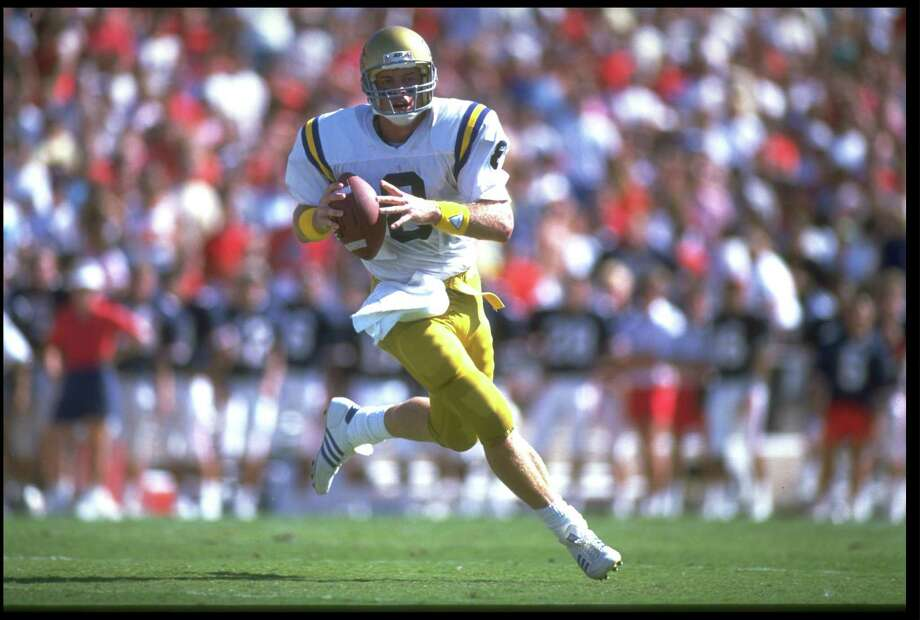 UCLA – No. 8 (Troy Aikman) Photo: Mike Powell, Getty Images / Getty Images Sport Classic