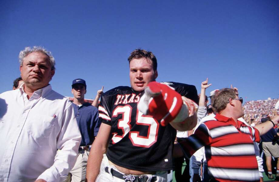 Texas Tech – No. 35 (Zach Thomas) Photo: Al Bello, Getty Images / Getty Images North America