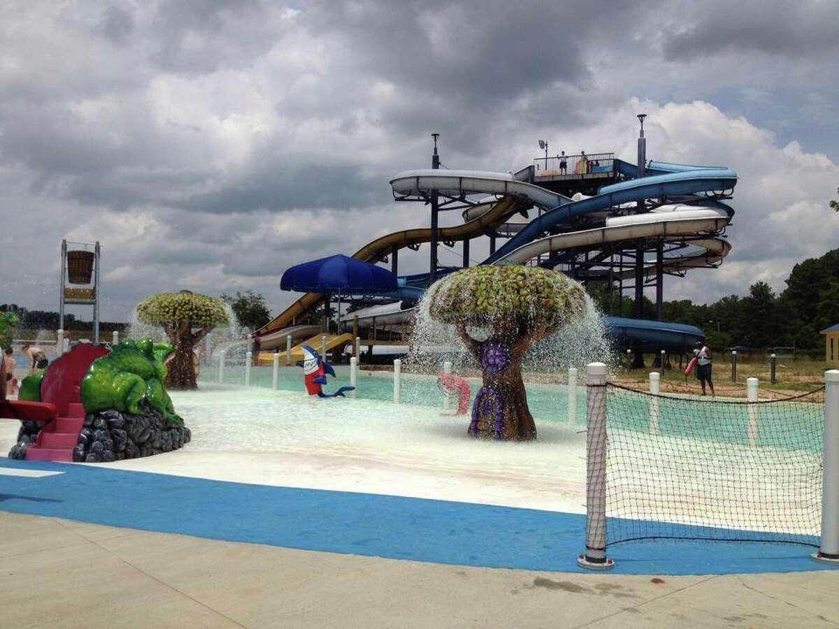 The slide tower in Shreveport. (Splash Kingdom Family Waterparks)