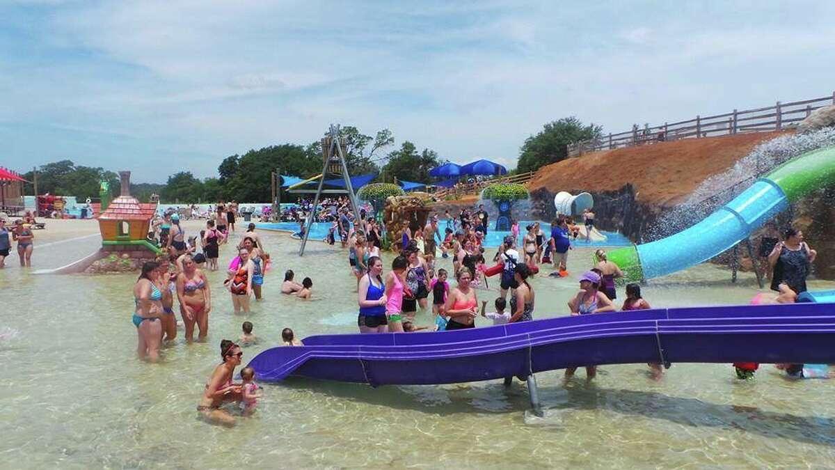 The children's play area at the Hudson Oaks park. (Splash Kingdom Family Waterparks)