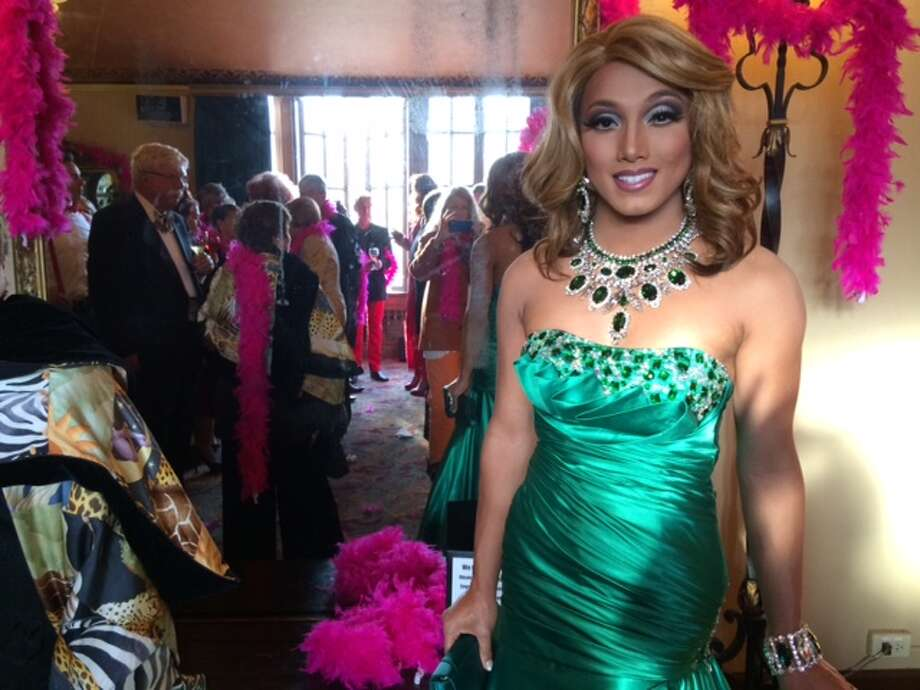 Khmera Rouge, Miss Gay Asian Pacific Alliance Photo: Leah Garchik