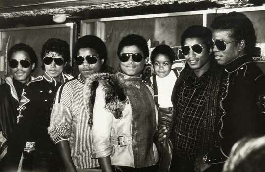 The Jackson Five had a few reunions after Michael Jackson became hugely successful as a solo act. Here, Marlon Jackson, Michael Jackson, Tito Jackson, Randy Jackson, Jackie Jackson and Jermaine Jackson of The Jacksons with Emmanuel Lewis (3rd right) attend Victory Tour Press Conference on November 30, 1983 at Tavern on the Green in New York City.  Photo: Ron Galella, Getty / Ron Galella Collection