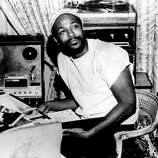"Marvin Gaye produced some of the most iconic songs and albums of the Motown era, from his cover of ""Heard it Through the Grapevine"" (1968), to ""Let's Get It On"" (1973) on to arguably his most important work, ""What's Going On"" in 1971. Here, Gaye sits in the studio in 1971."