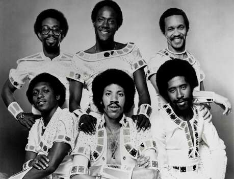 "The Commodores peaked in the 1970s with hits like ""Easy,"" ""Brick House,"" and ""Three Times a Lady."" They'd return to the top of the charts in 1985 with their album, ""Nightshift"" and titular single. From back to front, right to left, it's Walter Orange, Ronald La Pread and Milan Williams, Thomas McClary, Lionel Richie and William King in 1970 Photo: Gilles Petard, Getty / Redferns"