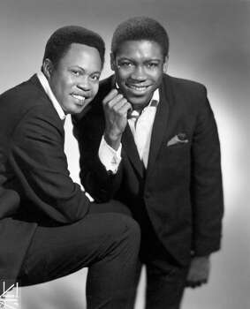 "Sam Moore and Dave Prater, known together as Sam & Dave, are best known for the 1967 song, ""Soul Man"". Other notable releases include ""Hold On, I'm Comin'"" (1966), ""When Something is Wrong with My Baby"" (1967) and ""I Thank You"" (1968). Here, Sam & Dave pose for a photo in 1967.  Photo: Charlie Gillett Collection, Getty / Redferns"