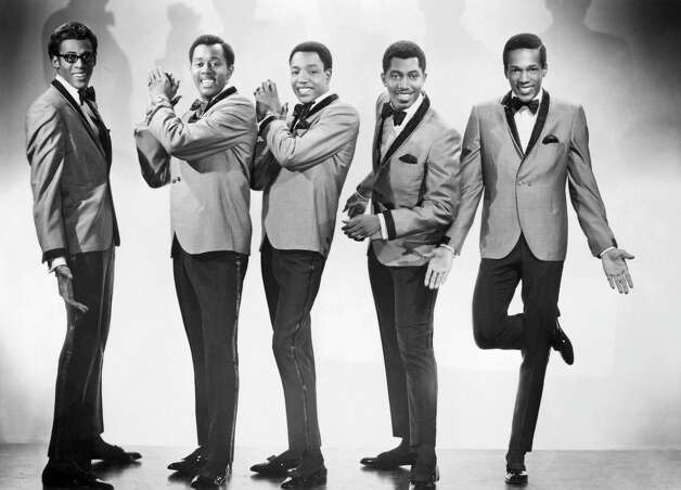 """The Temptations are arguably the definitive Motown band, or at least that's likely how they will be remembered. Songs such as """"Just My Imagination (Running Away With Me)"""" (1971), """"My Girl (1964), and """"Papa Was a Rollin' Stone"""" (1972) still pop up in your Pandora playlist far more than many of the other Motown era acts.As per many Motown group acts, The Temptations went through a dizzying number of line-up changes. From left to right, David Ruffin, Melvin Franklin, Paul Williams, Otis Williams and Eddie Kendricks pose for a portrait in 1965 in New York City, New York. Photo: Michael Ochs Archives, Getty / Michael Ochs Archives"""