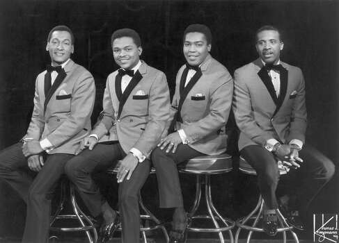 "The Four Tops, which formed in 1953, were one of the marquee performing acts for Motown Records in the early-to-mid-sixties. In conjunction with the songwriting production team, Holland-Dozier-Holland, the Four Tops released timeless hits such as, ""It's the Same Old Song"" (1965), ""I Can't Help Myself (Sugar Pie Honey Bunch)"" (1965), and ""Reach Out I'll Be There"" (1966).  Here, the group is photographed in the mid 1960s in New York City. From left to right: Abdul Duke Fakir, Renaldo Obie Benson, Lawrence Payton, Levi Stubbs. Photo: Michael Ochs Archives, Getty / Michael Ochs Archives"
