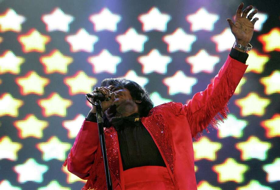 James Brown died on December 25, 2006 at the age of 73. Here, James Brown performs on stage at the Live 8 Edinburgh concert at Murrayfield Stadium on July 6, 2005 in Edinburgh, Scotland. Photo: MJ Kim, Getty / 2005 Getty Images
